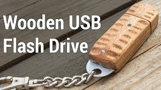 Wooden USB Flash Drive | Деревянная флешка