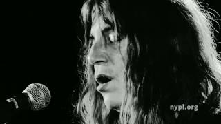 Patti Smith | Grateful | LIVE from the NYPL