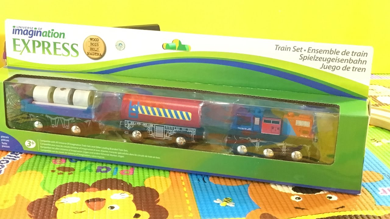 Toys R Us Trains : Unboxing toys quot r us imaginarium train freight