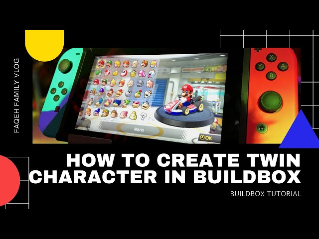 Buildbox Tutorial: Cara create double/twin characters di Buildbox 2