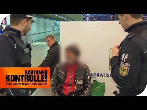 Alter Bekannter am Bahnhof: Sollte er nicht in Haft sitzen? | Achtung Kontrolle | kabel eins