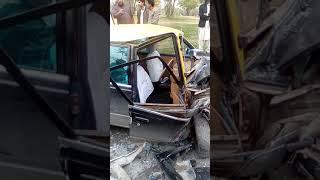 Accident near 7th avenue Islamabad