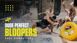 Pool Stereotypes (Bloopers & Deleted Scenes) | Dude Perfect Plus