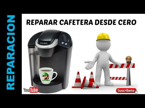 Reparación De Cafetera (Keurig-Oster-Hamilton) How to Fix Repair Unclog Keurig -- SUPER EASY!