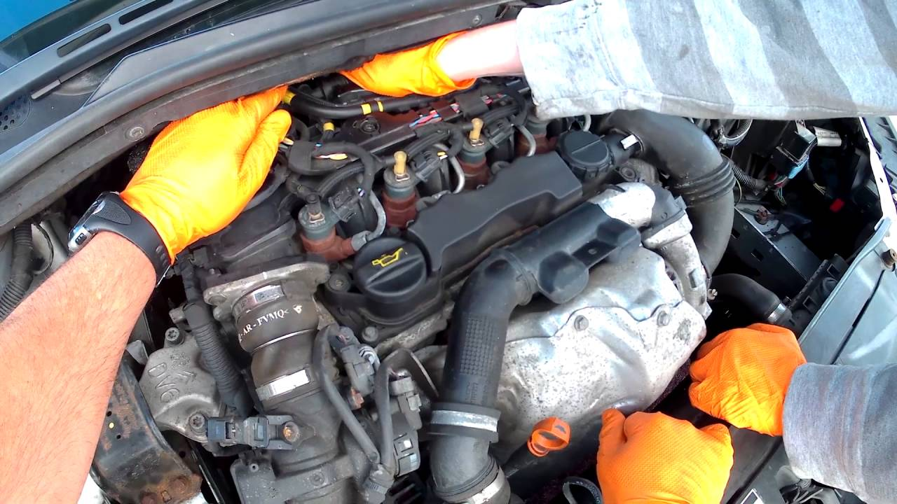 Bleed and prime the diesel fuel filter on your Citroën C4 16 HDi for free  YouTube