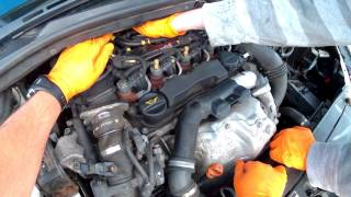 Bleed and prime the diesel fuel filter on your Citroën C4 1.6 HDi for free