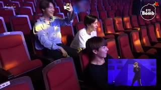 BTS Джин читает рэп Шуга поет