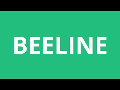 How To Pronounce Beeline - Pronunciation Academy