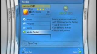 PF360 2005 - Xbox 360 Dashboard Walkthrough