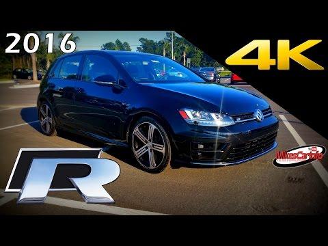2016 Volkswagen Golf R - Ultimate In-Depth Look in 4K