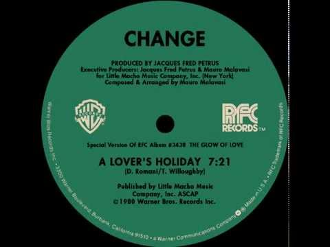 Change  A Lover's Holiday  version