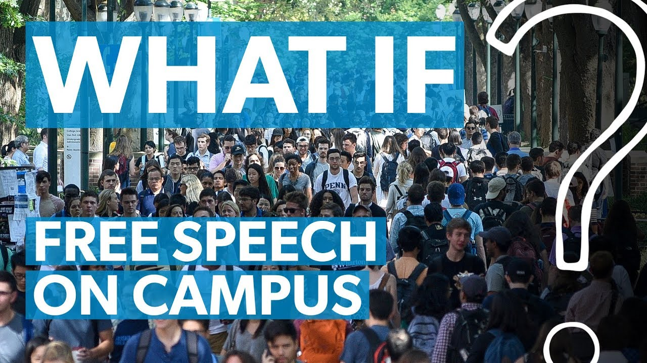 free speech on campus In light of recent events that have tested the commitment of colleges and universities across the nation to free and open discourse on campus, univer.