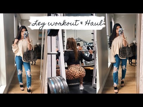 LEG WORKOUT | Amazon Haul thumbnail
