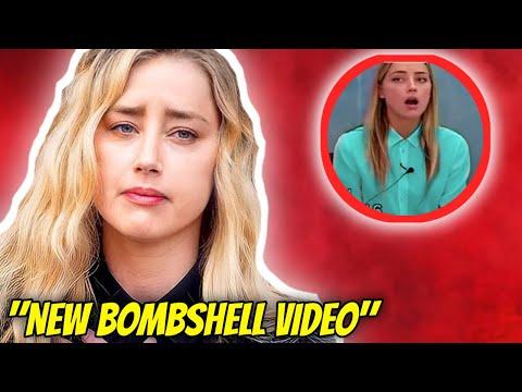 Amber Heard EXPOSÉE dans une NOUVELLE VIDÉO Bombshell, PROUVE À Johnny Depp ! | Engouement pour les célébrités