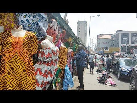 Follow Me To Balogun Market, Lagos Nigeria | Flo Chinyere