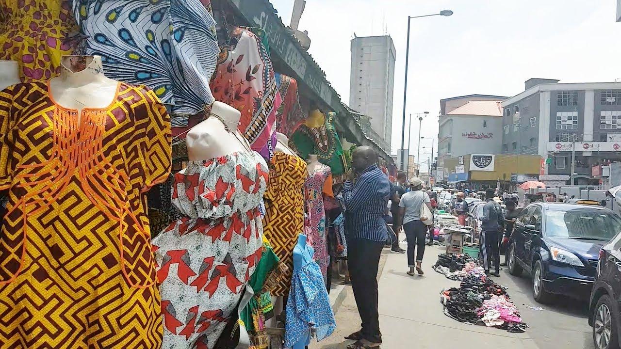 Follow Me To Balogun Market, Lagos Nigeria | Flo Chinyere - YouTube