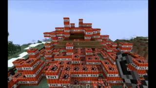 Minecraft 1000000000 TNT-WORLD RECORD EXPLOSION