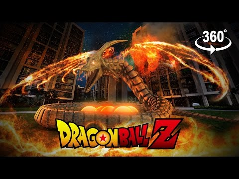 Dragon Ball Z: Shenron summoning in 360 VR