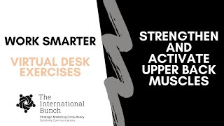 Strengthen and activate upper back muscles
