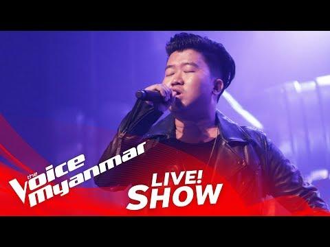 "Andrew: ""ပါးပါးေလးပါ"" - Live Show - The Voice Myanmar 2018"