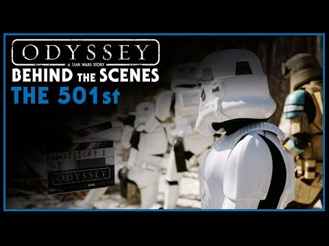 Odyssey Behind the Scenes - 501st Stormtroopers