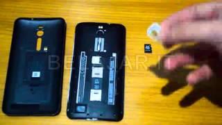 Cara mudah memasang Sim Card & Micro SD Card ASUS Zenfone 2