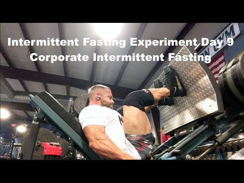 Intermittent Fasting Experiment Day 9   Corporate Intermittent Fasting