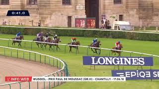 Vidéo de la course PMU PRIX PAUL DE MOUSSAC LONGINES