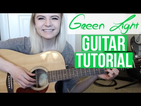 Mix - Green Light - Lorde | EASY GUITAR TUTORIAL
