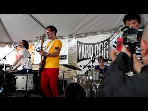 WALK THE MOON Lets Dance  @ the Yard Dog SXSW 2011