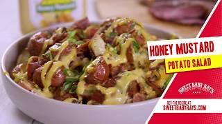 Baby Potato Salad With Honey Mustard