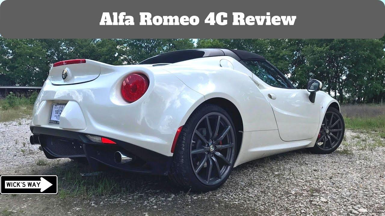 Alfa Romeo Mckinney >> 2017 Alfa Romeo 4C Review   Carbon Fiber Tub of Happiness ...