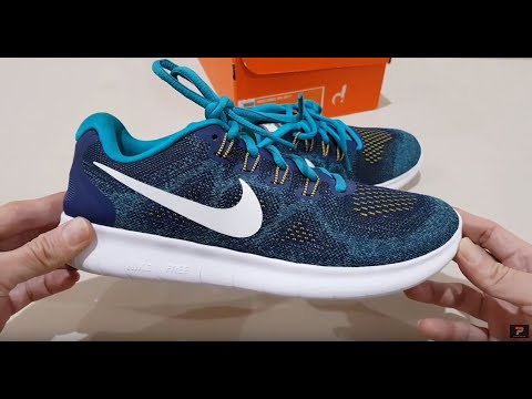 d04595979b7e Unboxing NIKE FREE RN RUN 2017 880839-403 BEST ROAD RUNNING SHOES ...