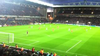 Blackburn vs Liverpool 2 - 3 - Maxi Goal 2 Celebration and Song