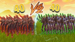 40 KARBIDÓW vs 40 GRAFICIAR W FORTNITE! *epicka walka widzów*