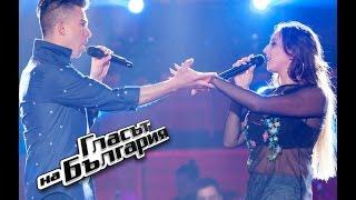 Явор vs. Паулина – Rock Your Body- Гласът на България 4 - Битки 1 - 16.04.2017