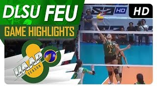 UAAP 80 WV: DLSU vs. FEU | Game Highlights | February 14, 2018 thumbnail