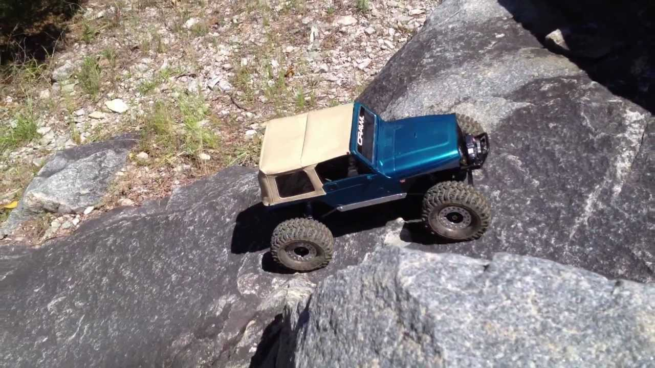 Tj Rock Crawler : Scale crawler jeep tj soft top scx with ptbull tires