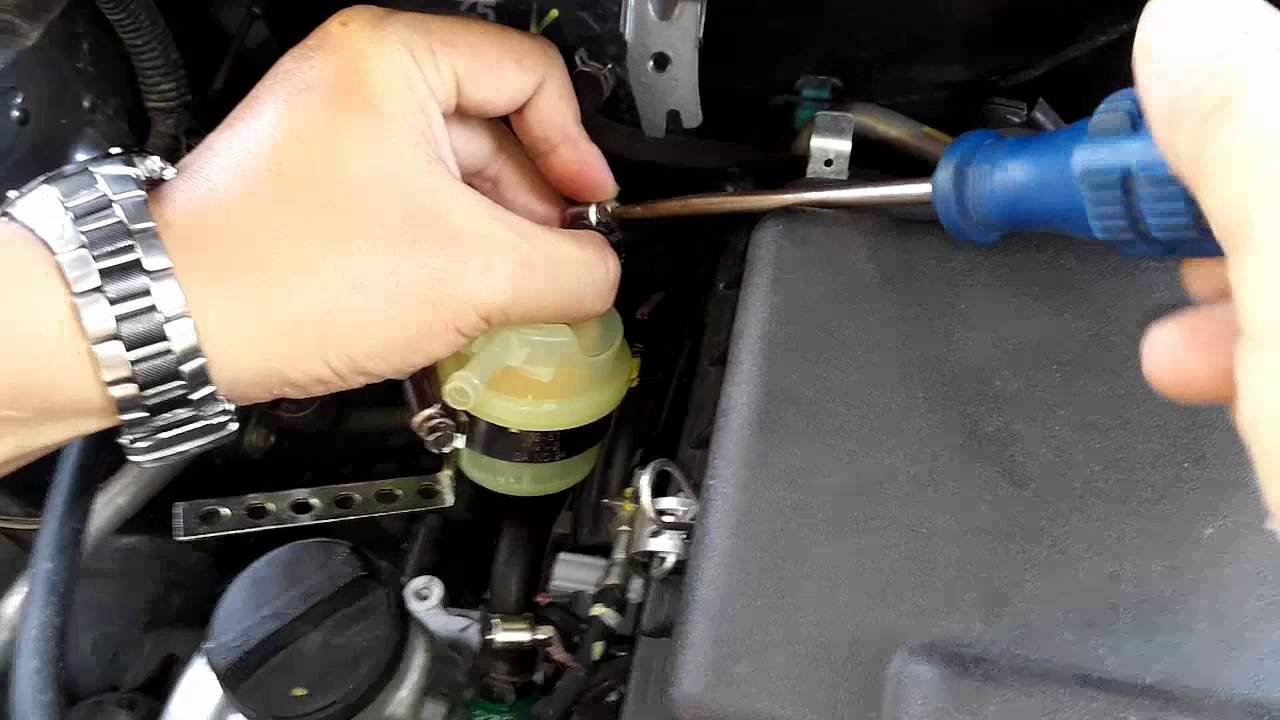 Diy Pasang Oil Catch Tank Sirion Myvi Youtube