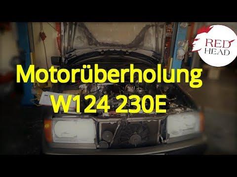 Motorüberholung Mercedes W124 230E -Bosch KE-jet Instandsetzen