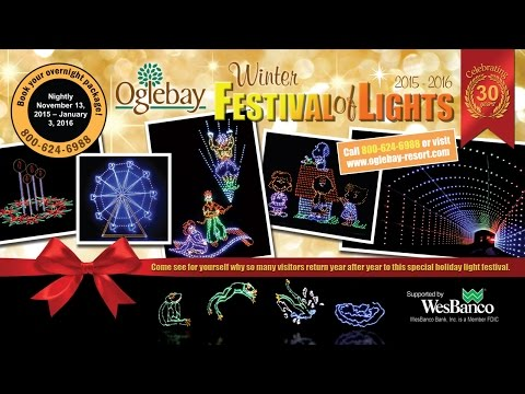 The Winter Festival of Lights at Oglebay