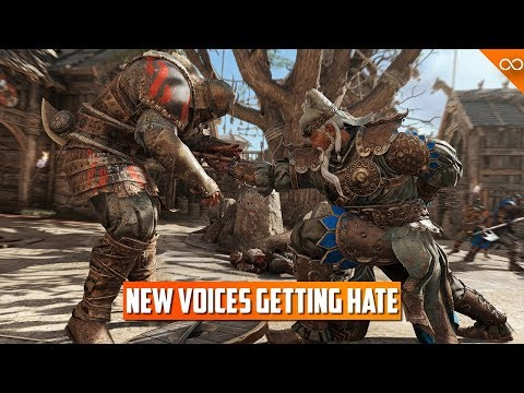 For Honor's New Voices are Receiving Backlash |