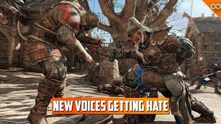 For Honor's New Voices are Receiving Backlash