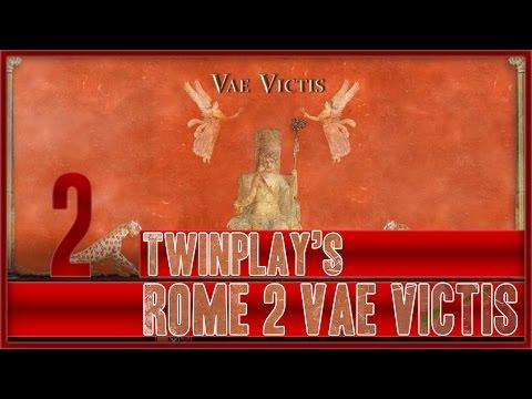 TwinPlays Total War Rome 2 - Vae Victis Mod Turdetani  #02