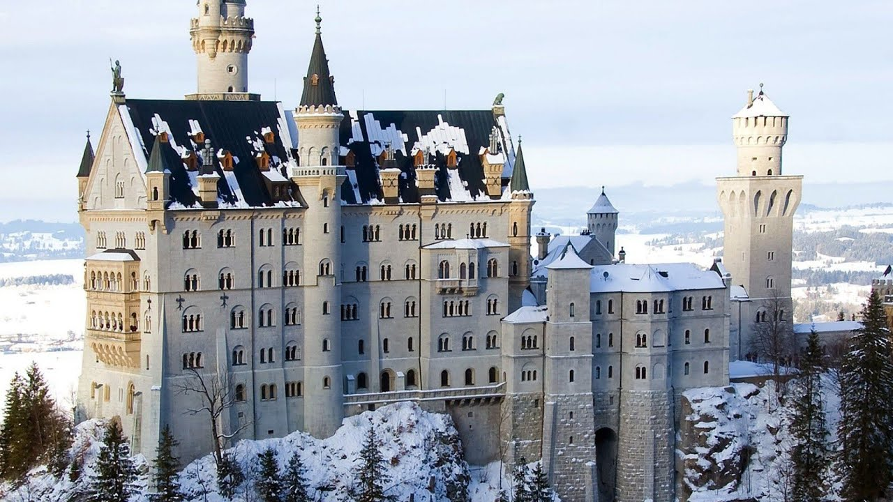 neuschwanstein castle wallpaper hd