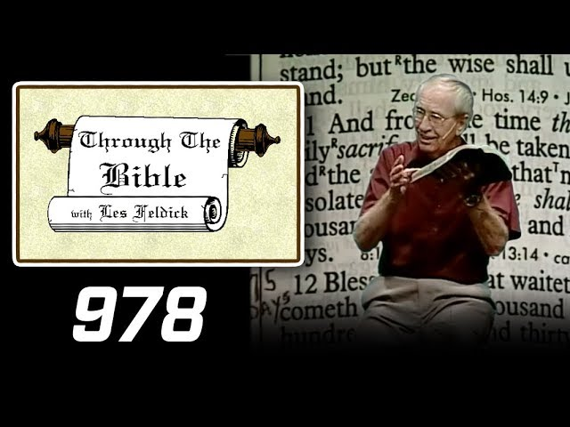 [ 978 ] Les Feldick [ Book 82 - Lesson 2 - Part 2 ] The Last Message to Daniel: Dan. 11:32-12:13  b