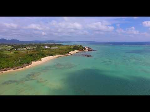 [4K]宜野座漁港  Drone Footage   okinawa islands Japan 沖縄 ドローン