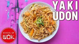 Simple and Delicious Yaki Udon Recipe! | Wok Wednesdays