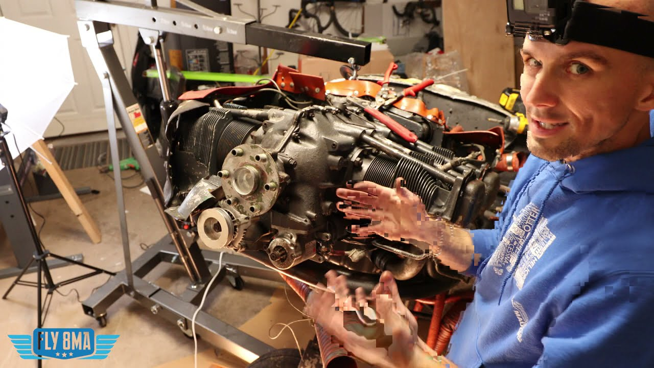 Piper Cherokee Aircraft Engine