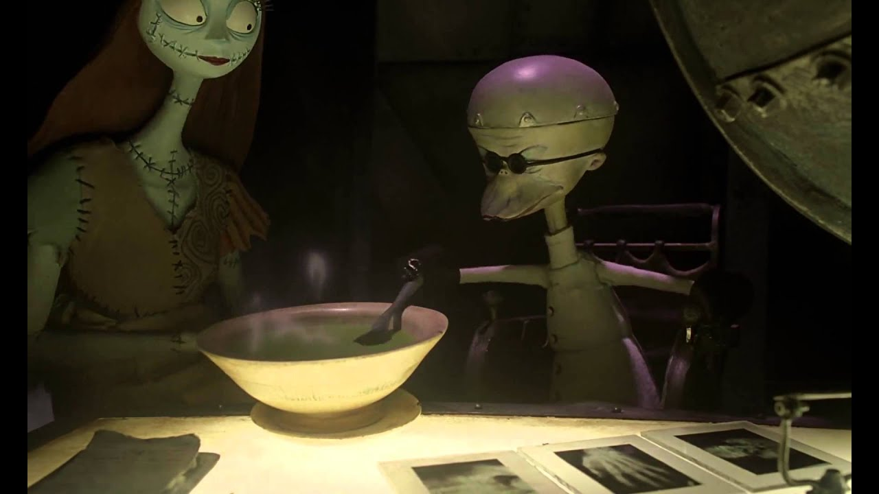 The Nightmare Before Christmas (1993) Soup - YouTube
